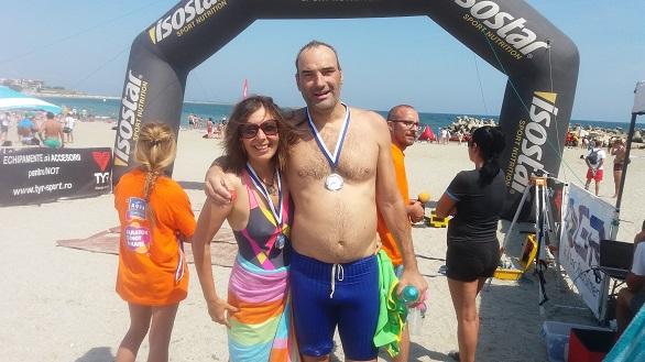 Roxana Gabor Iliescu si Paul Gabor