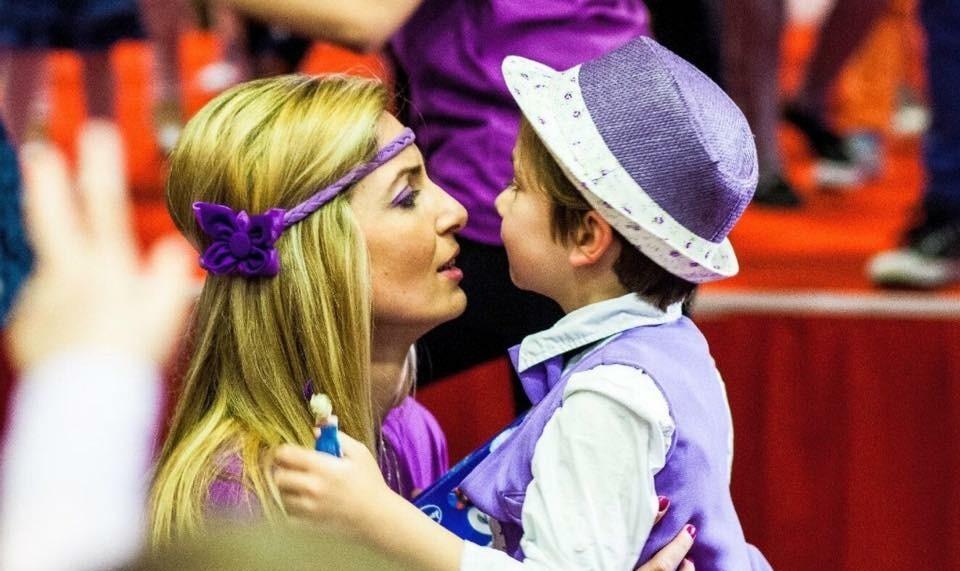adela chirica si fiul ei