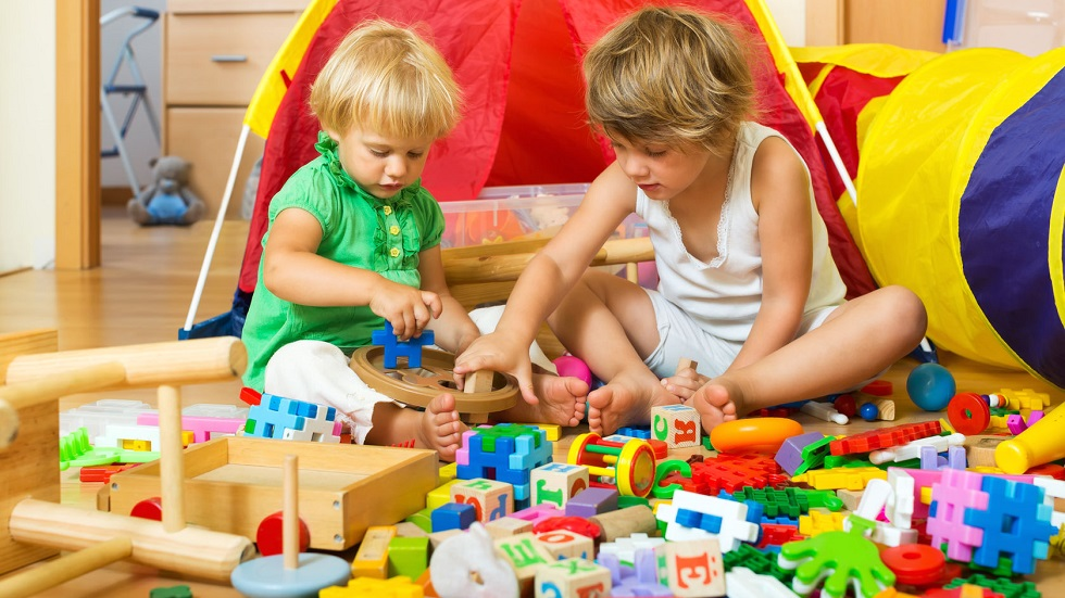 copii care se joaca