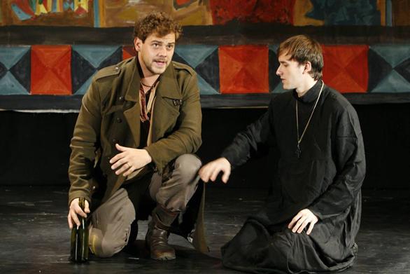 Fratii Karamazov la Teatrul Elisabeta, Andrei Ciopec, Costi Apostol