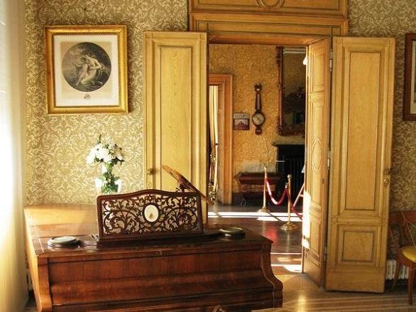 interiorul salonului