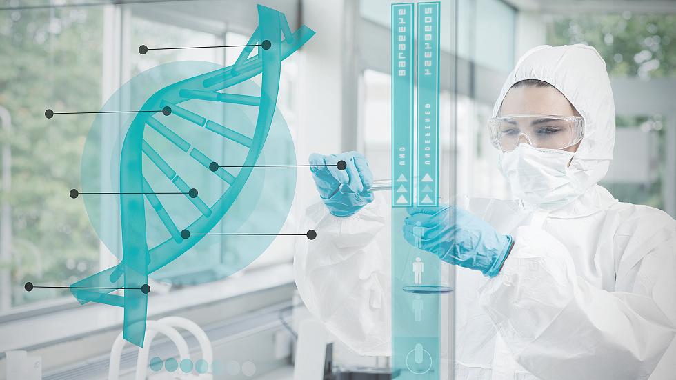 laborator de genetica