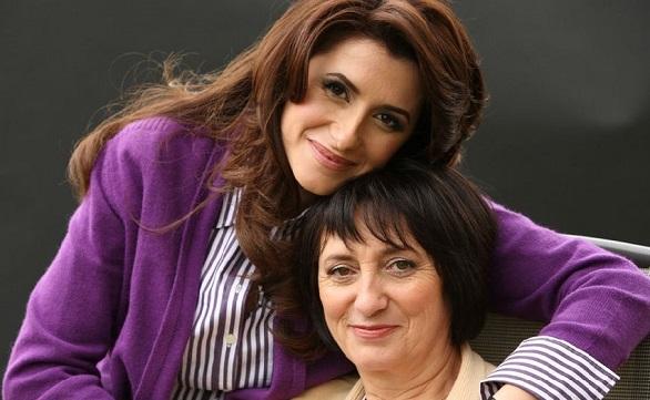 Iuliana Tudor cu mama