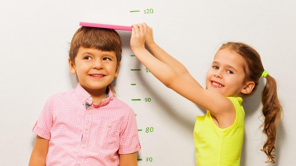 Metoda prin care poți calcula înălțimea copilului tau