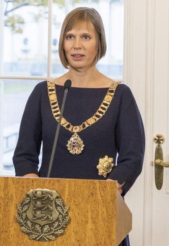 Cele 10 femei președinte. KERSTI KALJULAID, Estonia