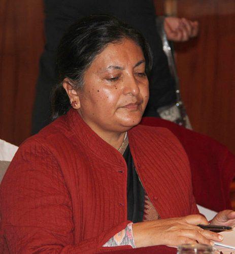 Cele 10 femei președinte. BIDHYA DEVI BHANDARI, Nepal. Foto: Ganesh Paudel