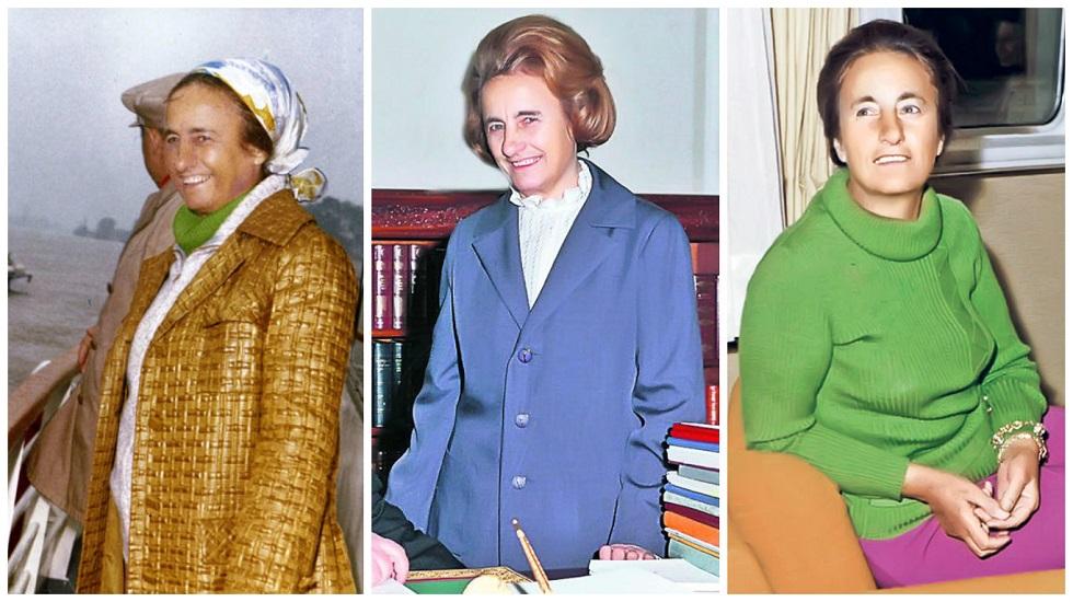 Elena Ceaușescu purta haine imitații după Chanel