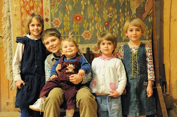 copiii familiei Scripcariu
