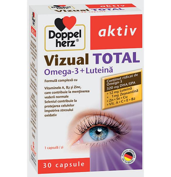 doppelherz aktiv vizual total omega 3 + luteina