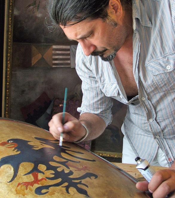 nicolae face pictura heraldica