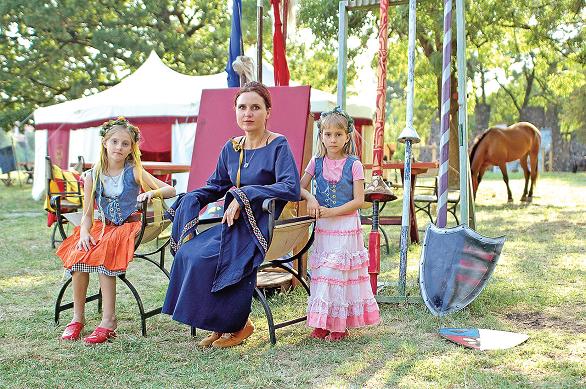 ritualul taberei medievale