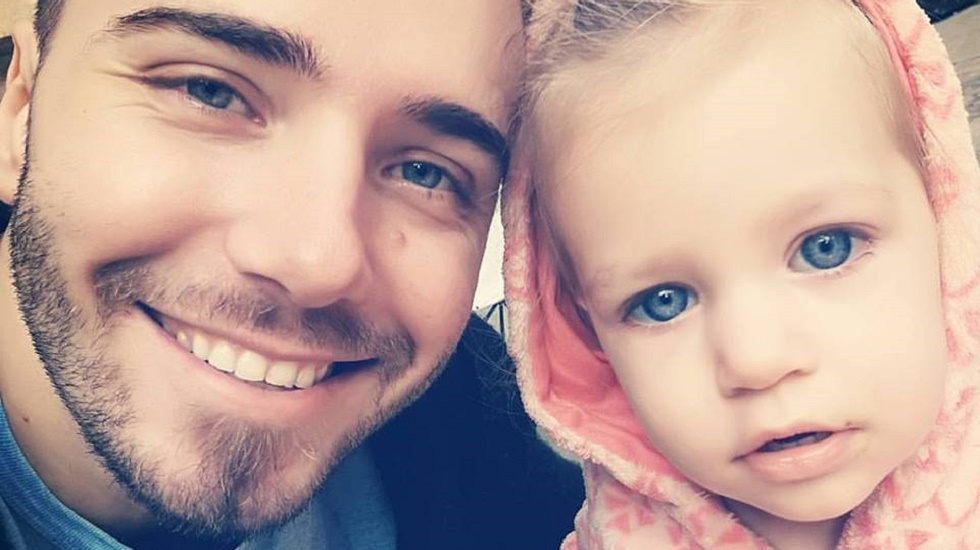 Robert Diaconeasa si fiica lui