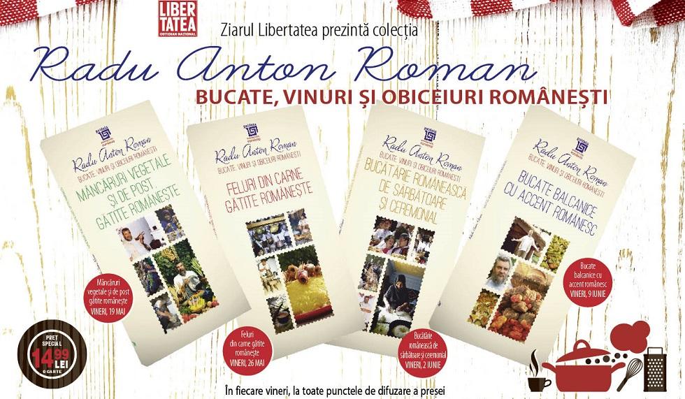 Gateste romaneste cu Radu Anton Roman