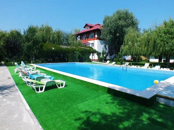 Gulliver Delta Resort, piscina