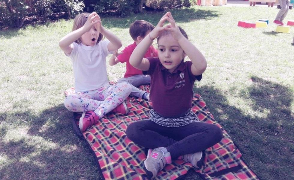Meditație pentru copii
