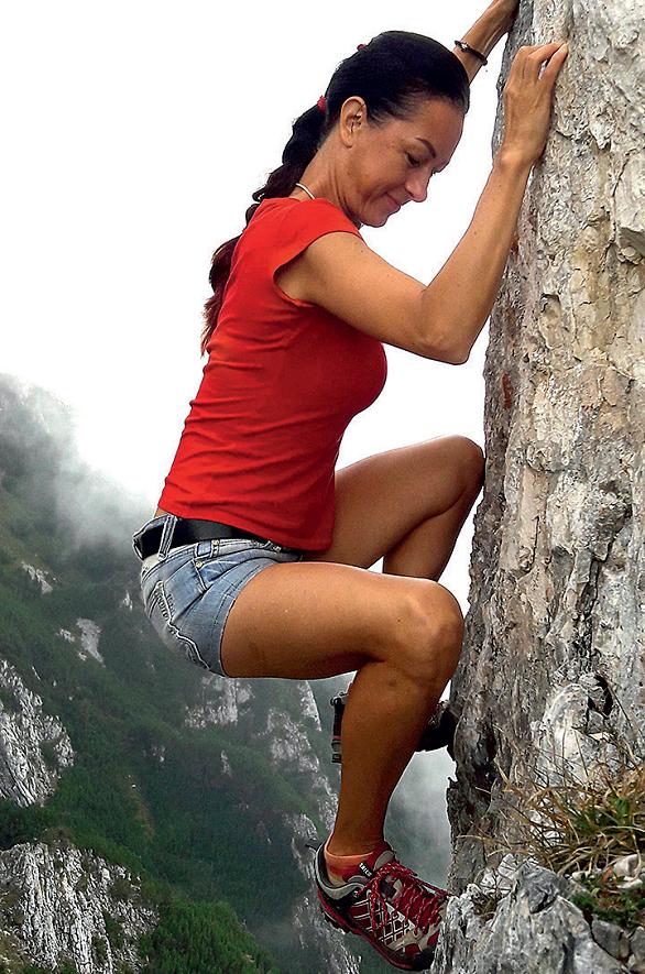 mihaela spiridonescu practica alpinism