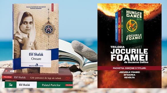 Pachete de cărți de vacanță la reducere