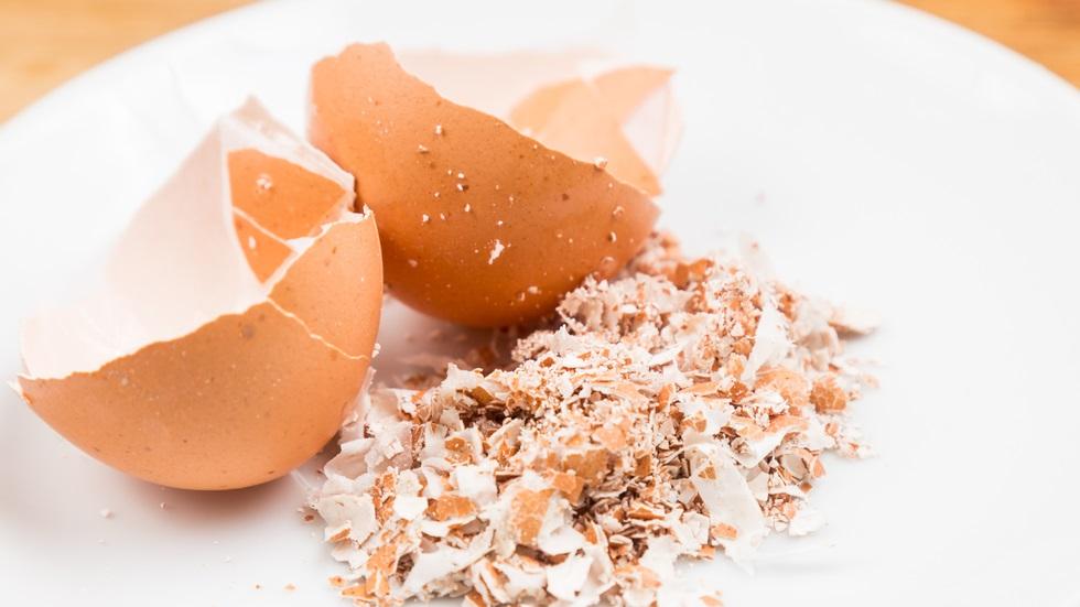 pudra din coaja de ou