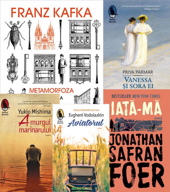 Topul Bookfest 2017 Humanitas Fiction