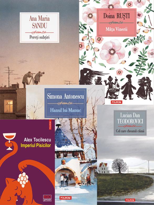 Topul Bookfest 2017 Polirom, autori români