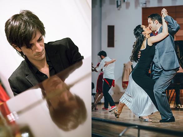 Șapte seri de tango la mall