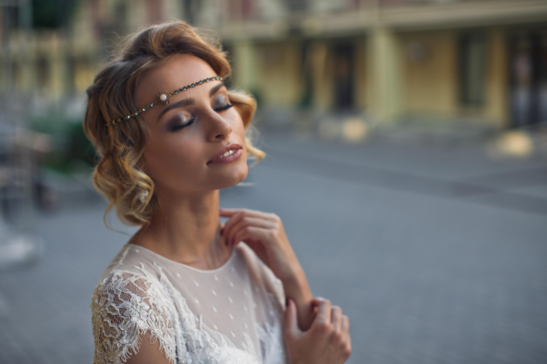 Coafuri Pentru Mirese Cu Părul Scurt Frumusete Frumusete Si Moda