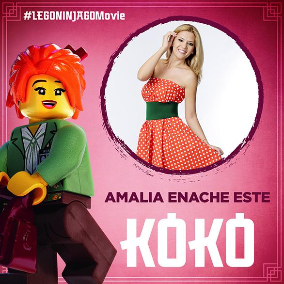 Amalia Enache debutează în dublajul de animaţie
