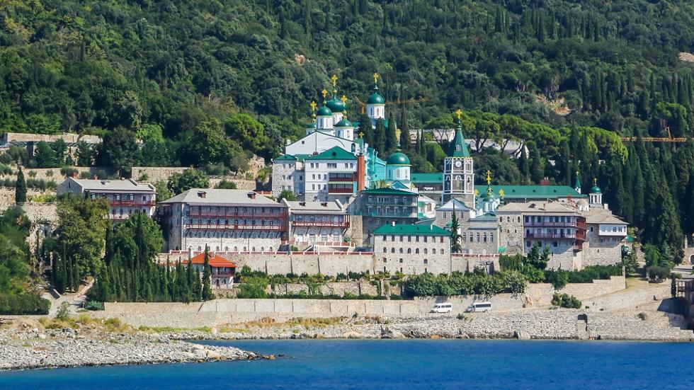 Mănăstirea Sf. Pantelimon de pe Muntele Athos