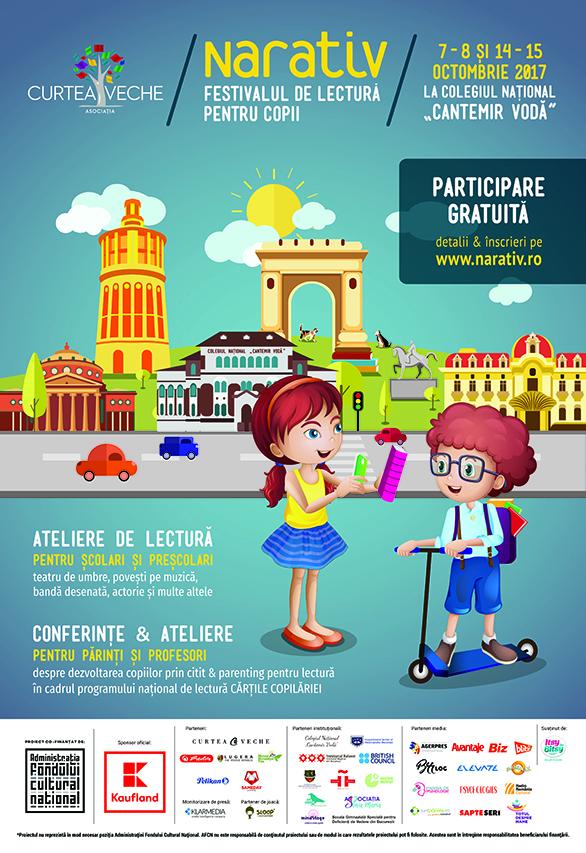 NARATIV – Festivalul de lectură pentru copii
