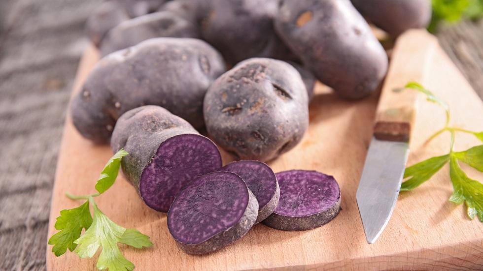 cartofii mov previn cancerul de colon