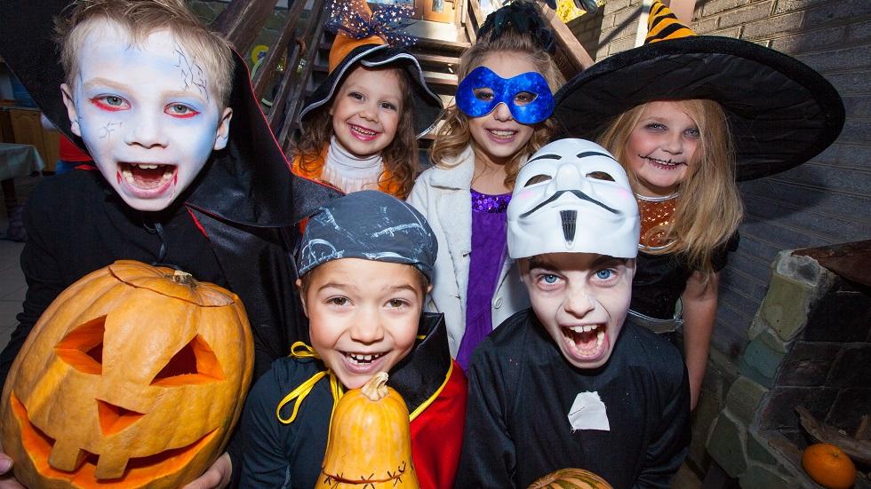 Măști de Halloween pentru copii