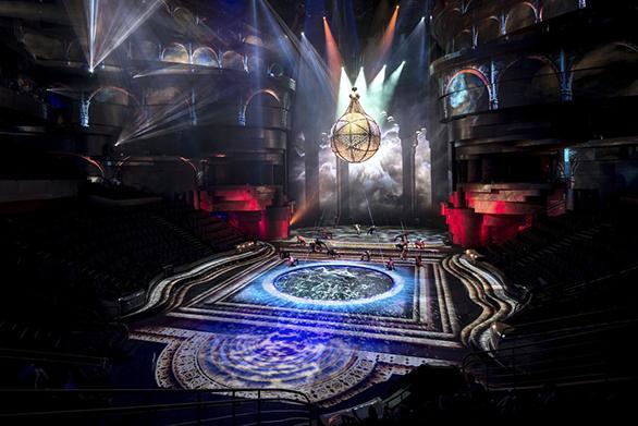 Spectacolul La Perle din Dubai