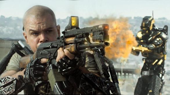 1 Decembrie la televizor, Elysium, Matt Damon