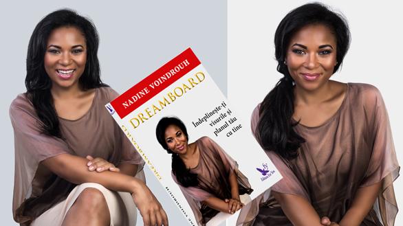 Nadine lansează o carte