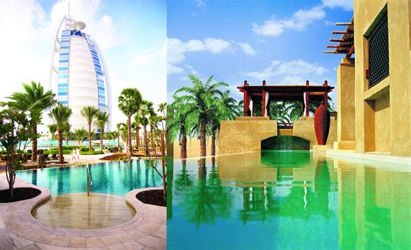 Piscinele din Dubai: Summersalt Beach Club și Bab Al Shams
