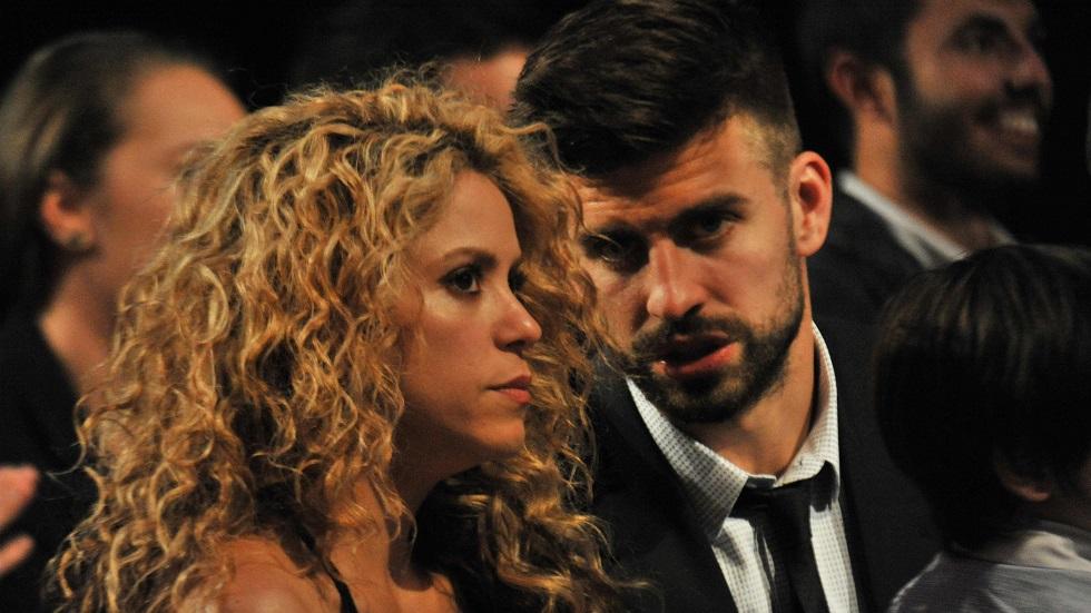 Shakira și Pique ceartă în public