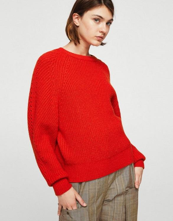 Top 5 pulovere roșii sub 100 de lei