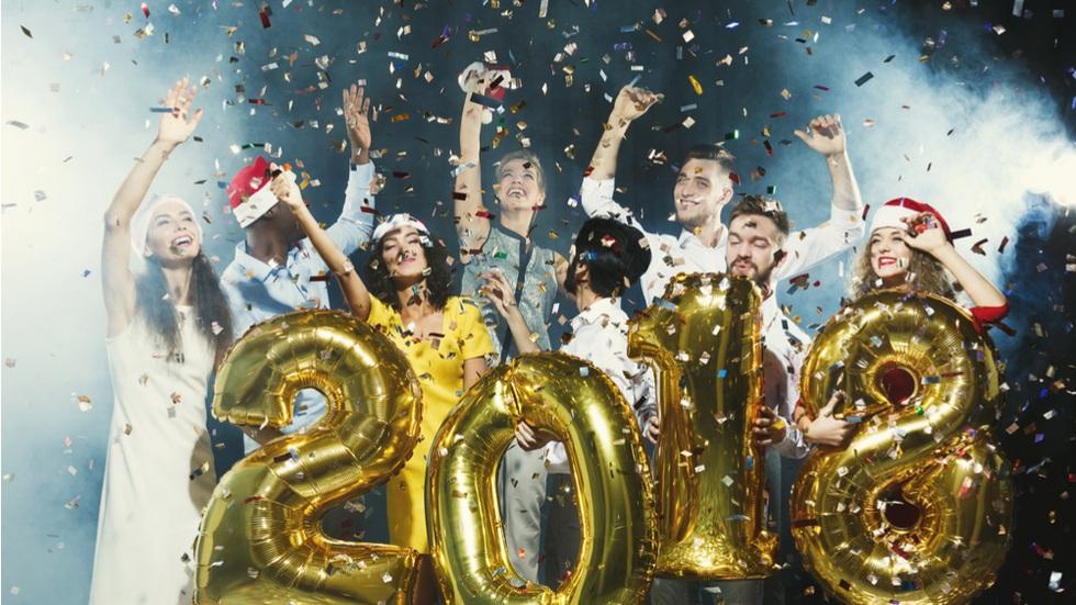 anul nou pe glob