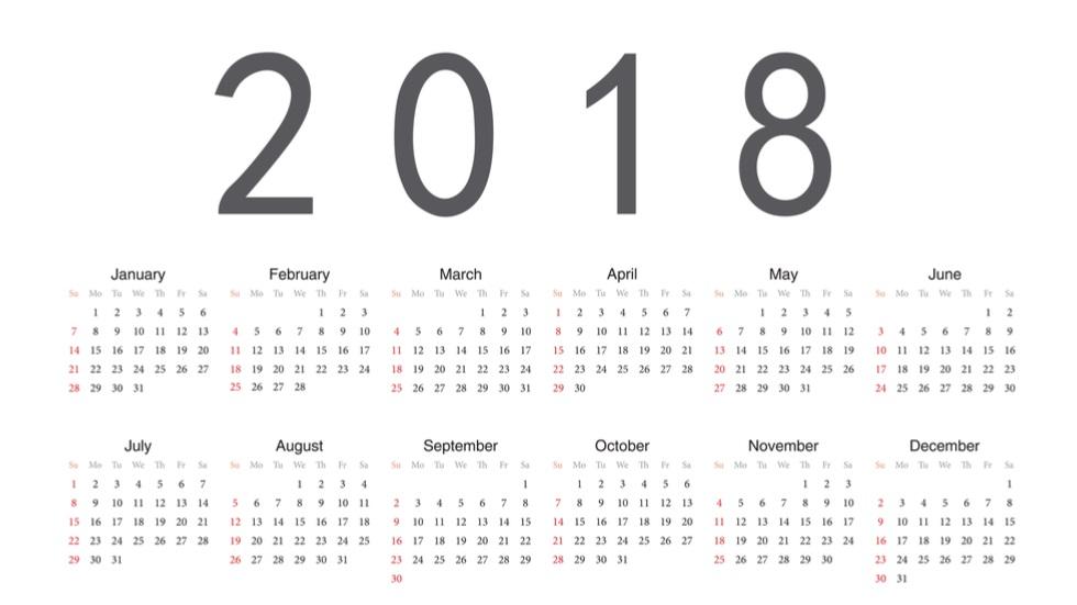 o nouă zi liberă 2018