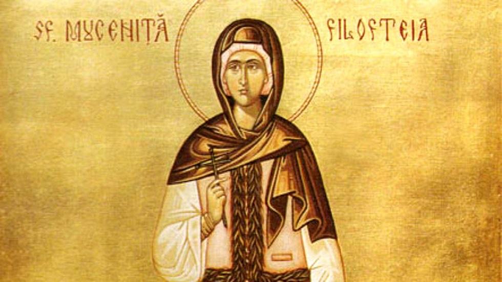 sfânta filofteia tradiții și obiceiuri