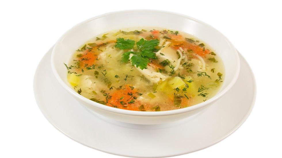 supa de pui cu ghimbir pentru răceală