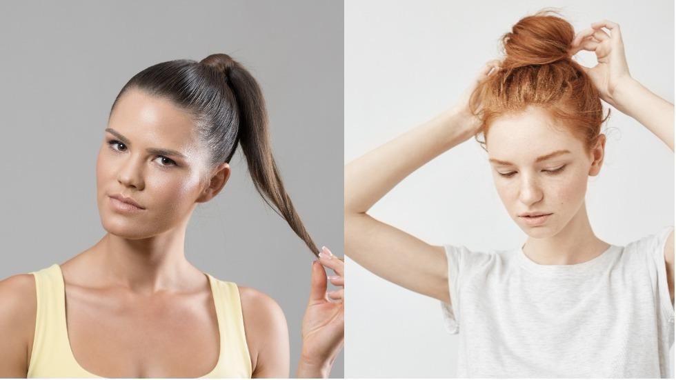De ce nu este bine să îți prinzi părul în coc sau în coadă
