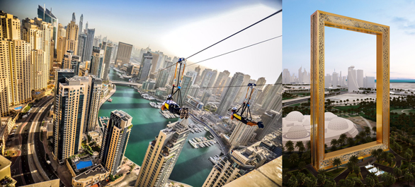 XLine Dubai Marina, Dubai Frame