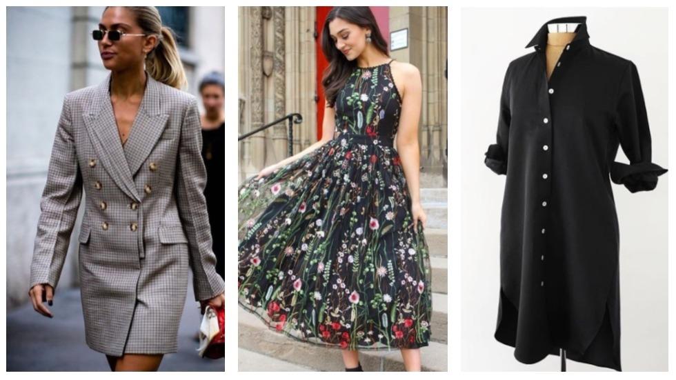 rochii de zi la modă primăvară-vară 2018