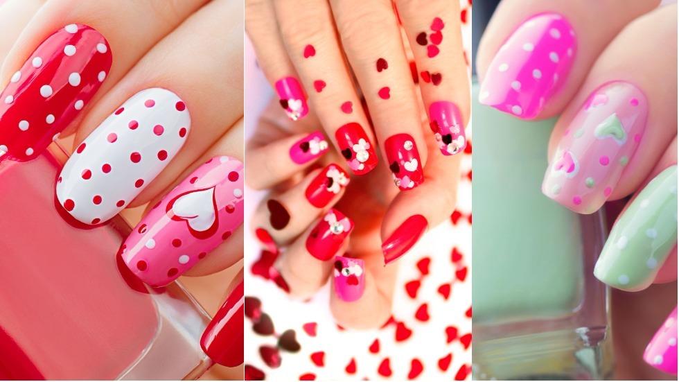 Manichiura Perfectă Pentru Valentines Day Ce Modele Să Alegi în
