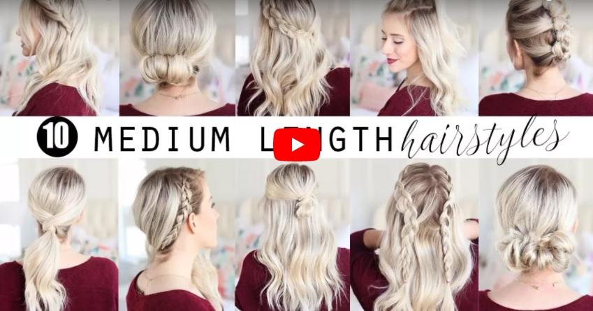 10 Moduri Simple Originale De A Aranja Părul De Lungime