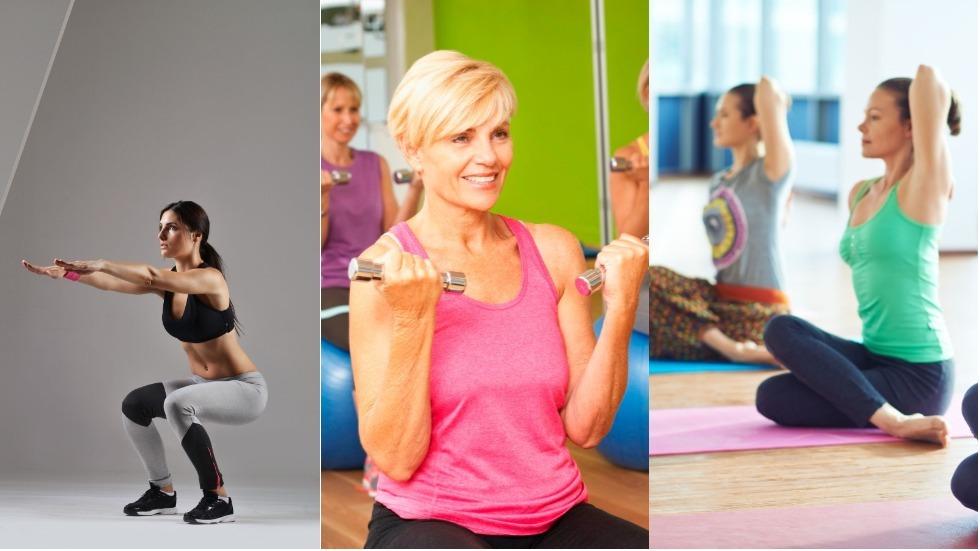 5 exerciții care te ajută să te menții în formă după 40 de ani