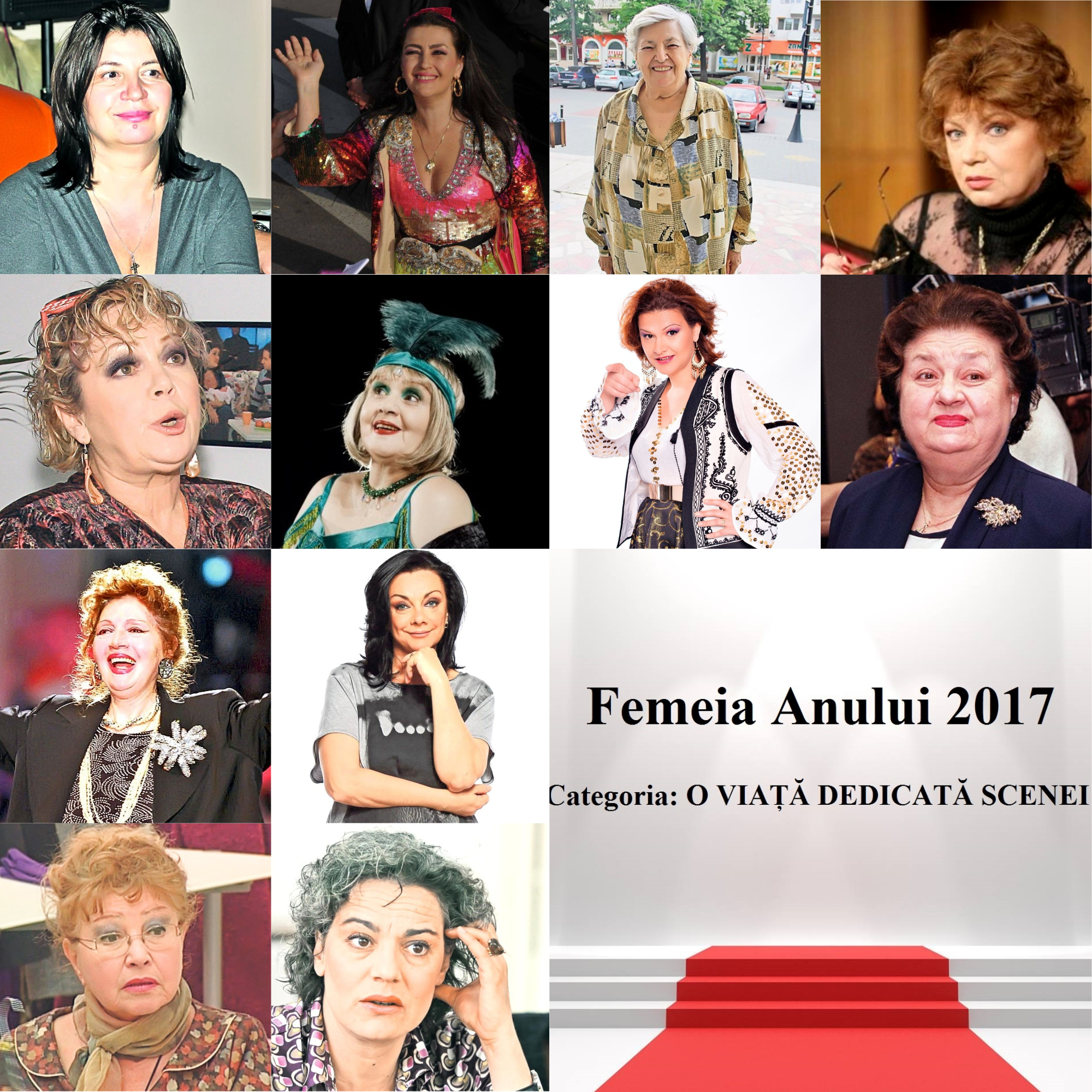 FEMEIA ANULUI 2017 - O VIATA DEDICATĂ SCENEI