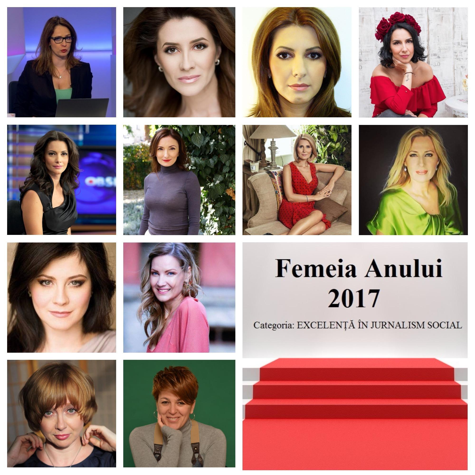 Femeia anului 2017 excelență în jurnalism