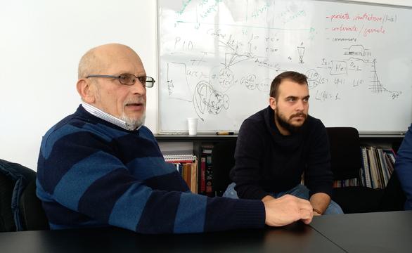 Dr. Sorin Zgură, directorul general al Institutului. Custodele unui tezaur de povești spațiale.